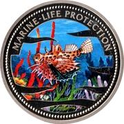1 Dollar (Lionfish) – reverse