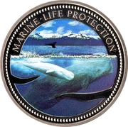 1 Dollar (Sperm Whale) – reverse