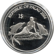 1 Dollar (Dolphin) – obverse