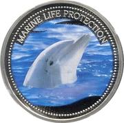 1 Dollar (Dolphin) – reverse