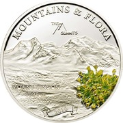 5 Dollars (Mount Vinson) -  reverse