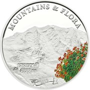 5 Dollars (Piz Palü) -  reverse