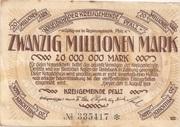 20,000,000 Mark – obverse