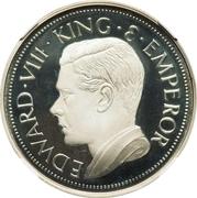 Crown - Edward VIII (silver) – obverse