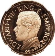 Sovereign - Edward VIII (gold) – obverse