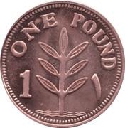 1 Pound (Copper) – reverse