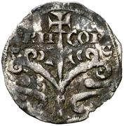 Dinero - Alfonso I (Jaca) – obverse