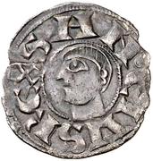 Dinero - Sancho V (elegant bust to left) – reverse