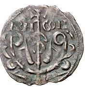 Dinero - Sancho V (elegant bust to left) – obverse