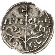 Dinero - Sancho V (crude bust) – obverse