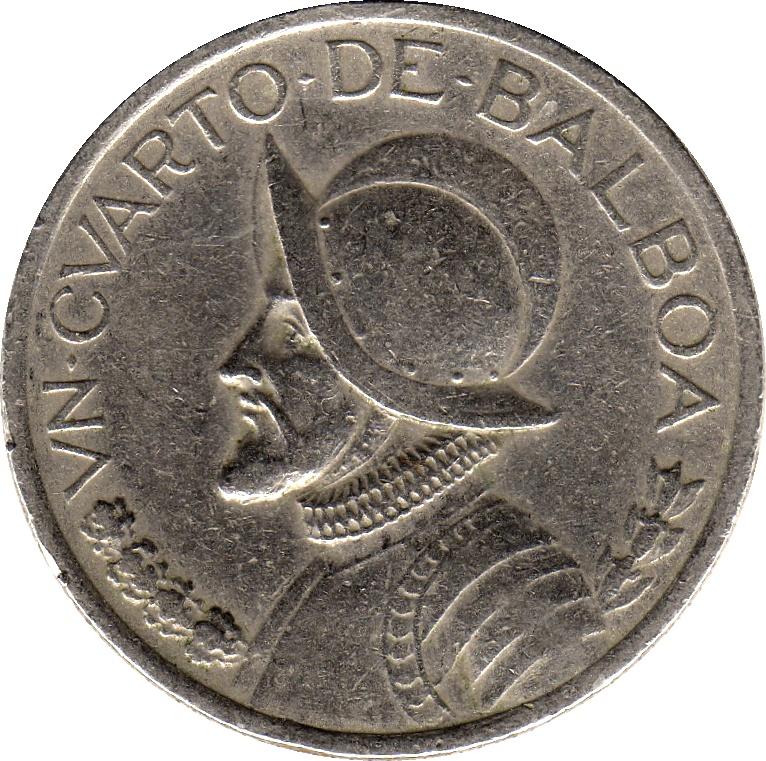 1 Cuarto Panama Numista