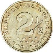 2½ Centésimos – reverse