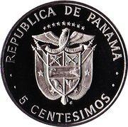 5 Centésimos (Carlos Finlay) – reverse