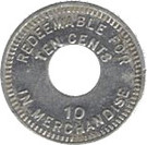 10 Cents (Palo Seco Leprosarium) – reverse