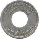 50 Cents (Palo Seco Leprosarium) – reverse