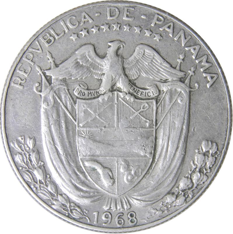 ½ Balboa - Panama – Numista