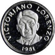 2½ Centésimos (Victoriano Lorenzo) – obverse