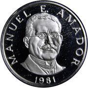 10 Centésimos (Manuel Amador) – reverse