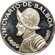 ¼ Balboa – reverse