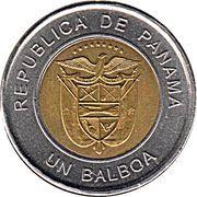 1 Balboa -  obverse