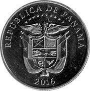 ¼ Balboa (Centenary of Panama Canal) -  reverse