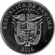 ¼ Balboa (First Passage through the Panama Canal) -  reverse