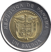 1 Balboa (Saint Mary, The Antique) -  obverse