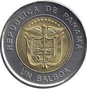 1 Balboa (Saint Francis of Assisi Church) -  obverse