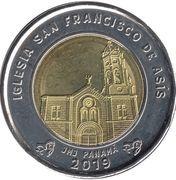 1 Balboa (Saint Francis of Assisi Church) -  reverse