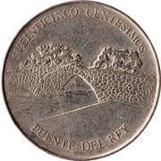 25 Centésimos (King's Bridge) – obverse