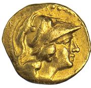 AV Tritartemorion - Pyrrhos of Epiros – obverse