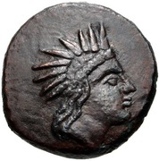 Bronze Æ12 - Paerisades IV Philometor – obverse