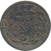 ½ Baiocco - Clement XI – reverse