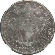 50 Bolognini - Pius VI – obverse