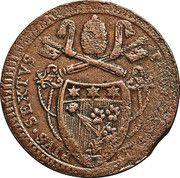 2 Baiochhi - Pius VI – obverse