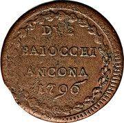 2 Baiochhi - Pius VI – reverse