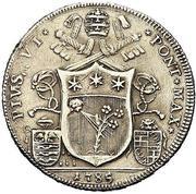 50 Bolognini - Pius VI -  obverse