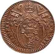 2 Baiocchi - Pius VI – obverse