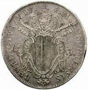 1 Scudo - Benedict XIV – obverse