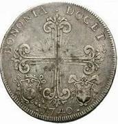1 Scudo - Benedict XIV – reverse