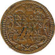 1 Quattrino - Innocent XI (Inscription) – reverse