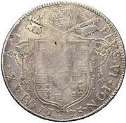 80 Bolognini - Pius VI – obverse