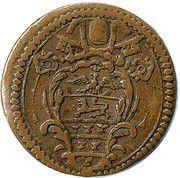 1 Quattrino - Innocent XI (Inscription) – obverse