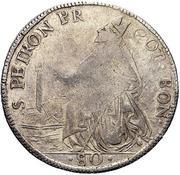 80 Bolognini - Pius VI – reverse