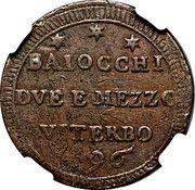 2 ½ Baiocchi – reverse