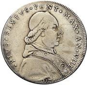 100 Bolognini - Pius VI – obverse