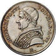 30 Baiocchi - Gregorio XVI – obverse