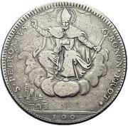 100 Bolognini - Pius VI – reverse