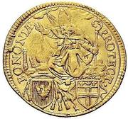 1 Zecchino - Pius VI – reverse