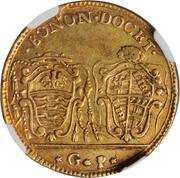 30 Paoli, 1 Doppia D'oro - Pius VI – reverse